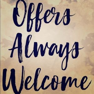 Other - Offers are welcomed